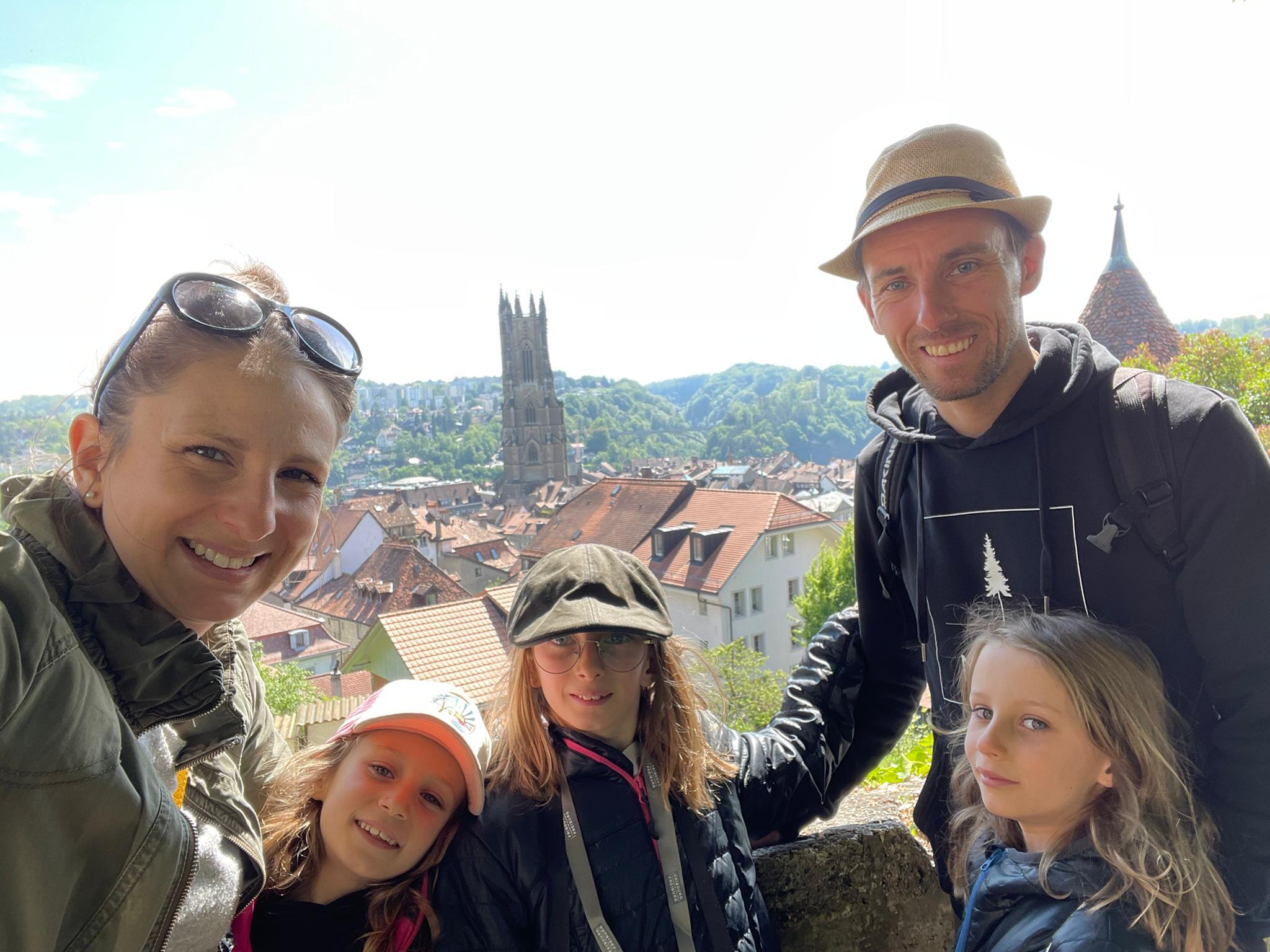 Voyage de la famille Cavadini: Fribourg2