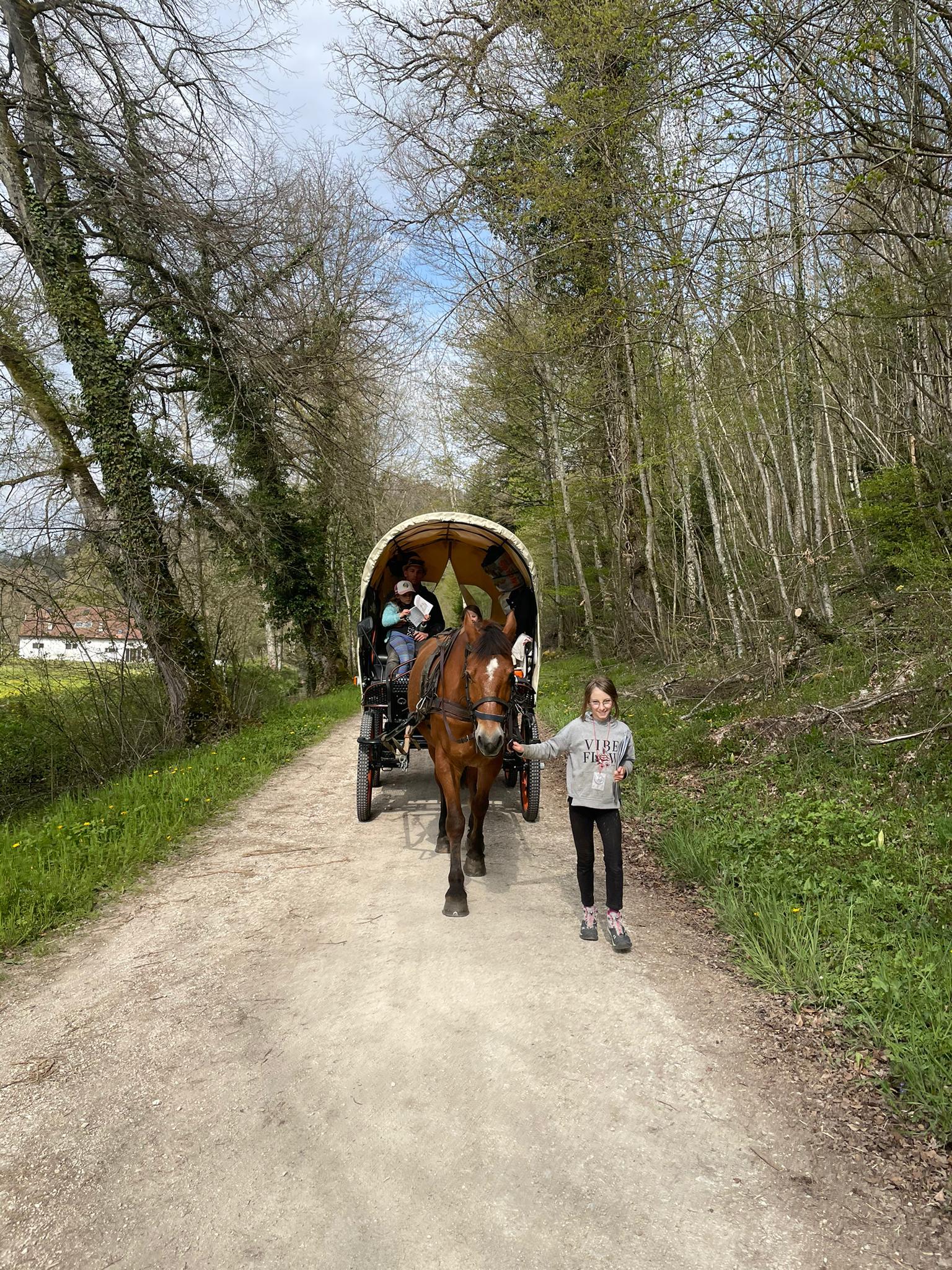 Voyage de la famille Cavadini: l'Ajoie