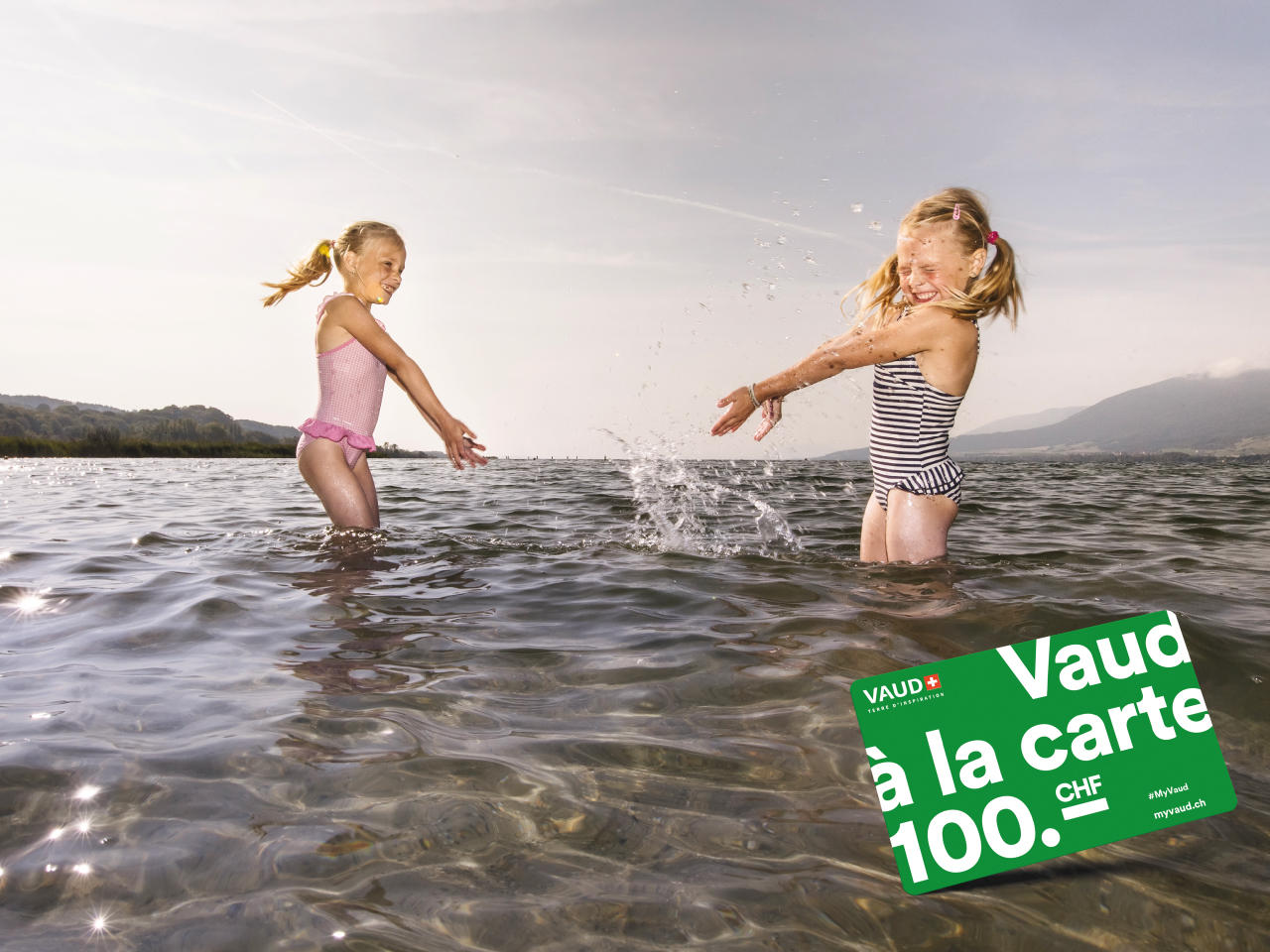 Bons plans pour vos vacances d'été en Suisse - Profitez de l'offre Vaud à la carte !