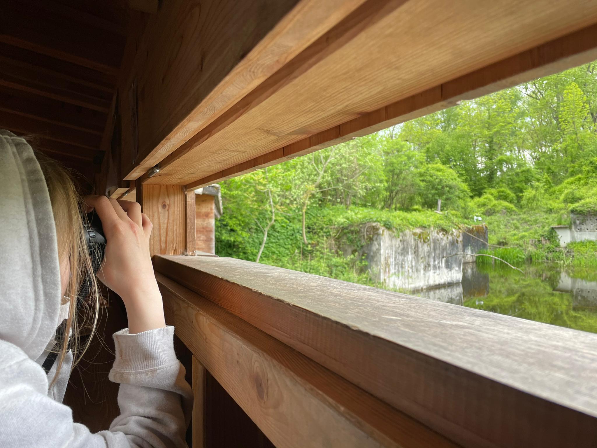 Voyage de la famille Cavadini: le centre-nature BirdLife de la Sauge
