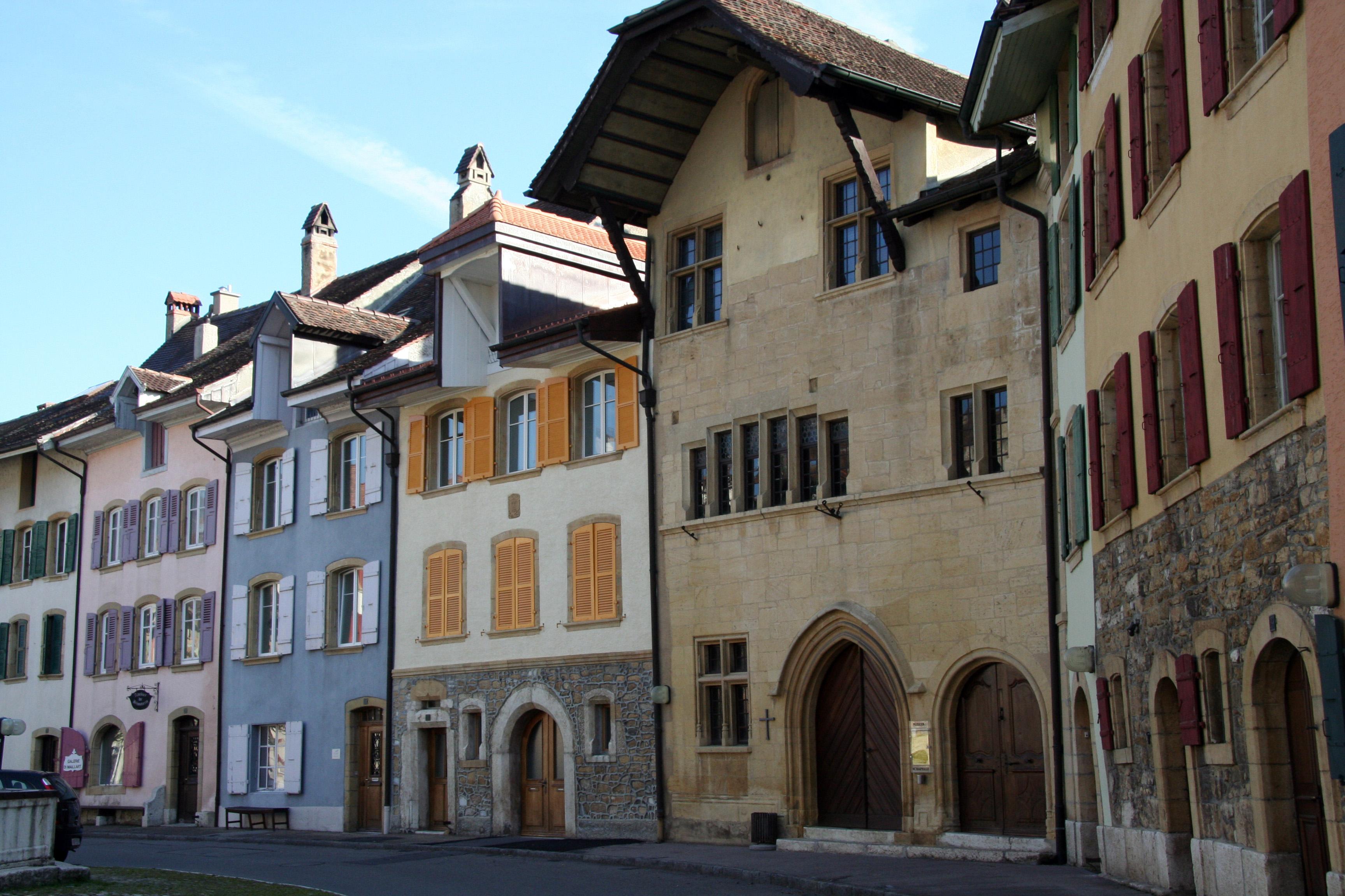 Les plus beaux villages de Suisse romande - Le Landeron (Neuchâtel)