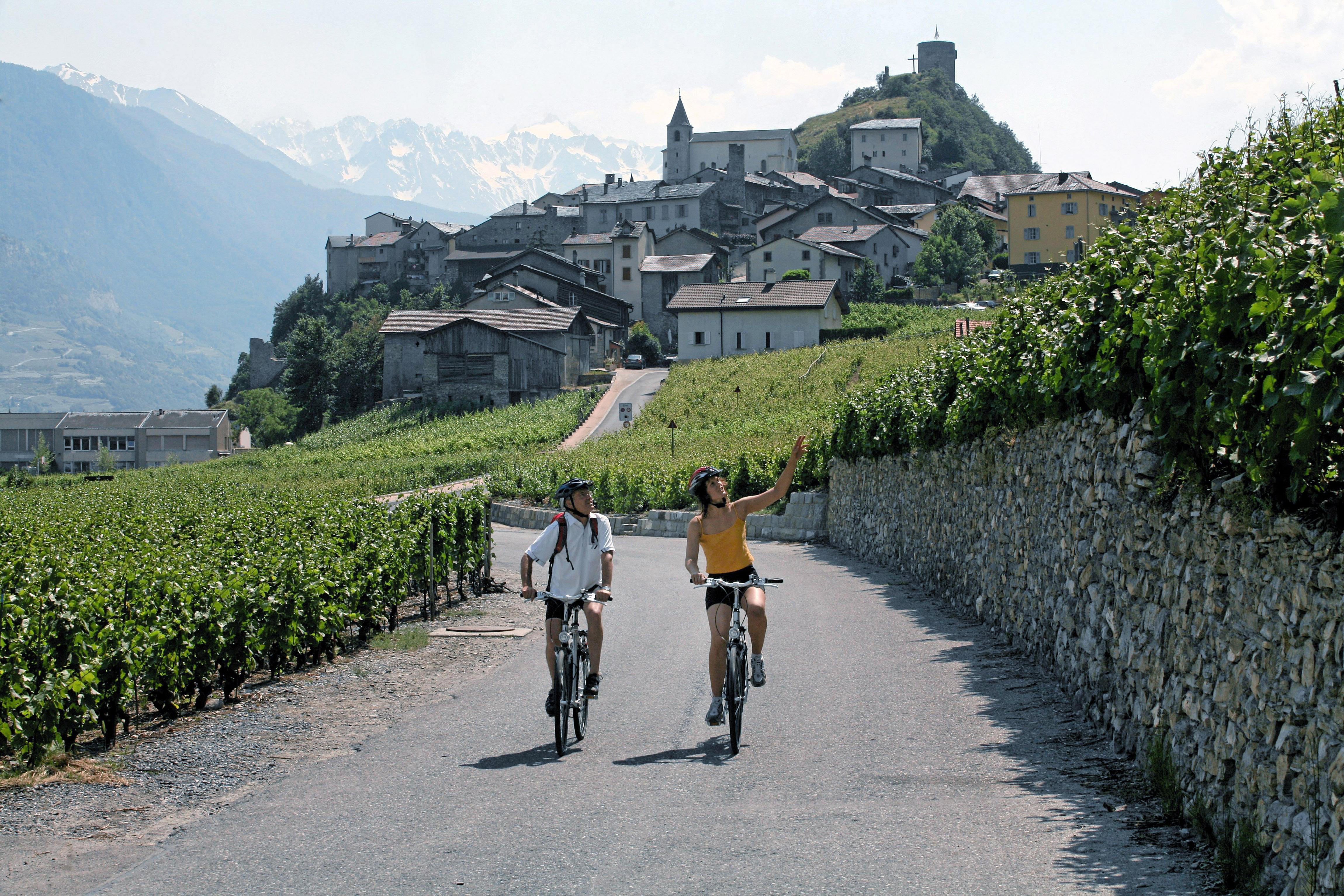 Les plus beaux villages de Suisse romande - Saillon (Valais)