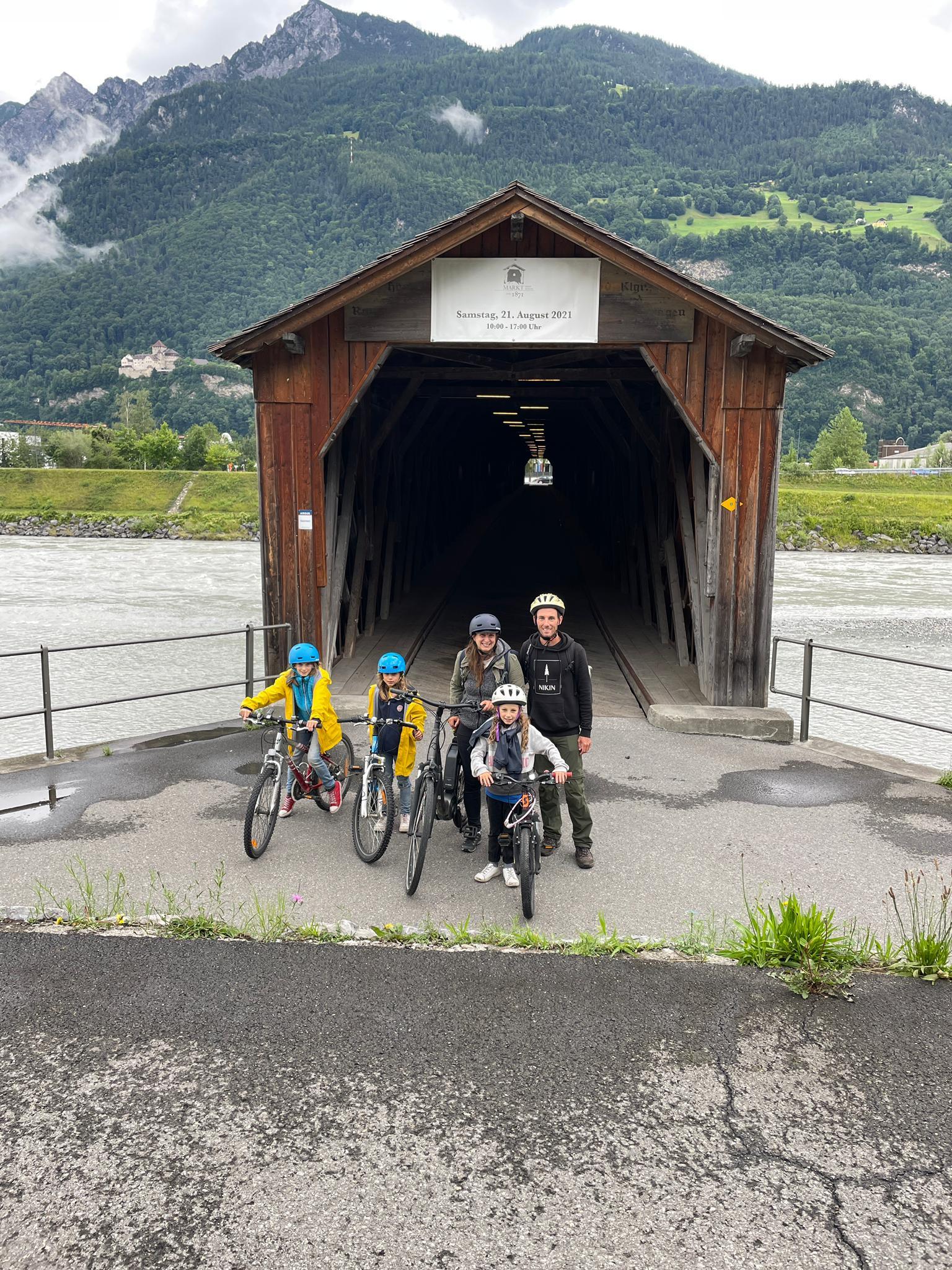 Voyage de la famille Cavadini: la vallée du Rhin