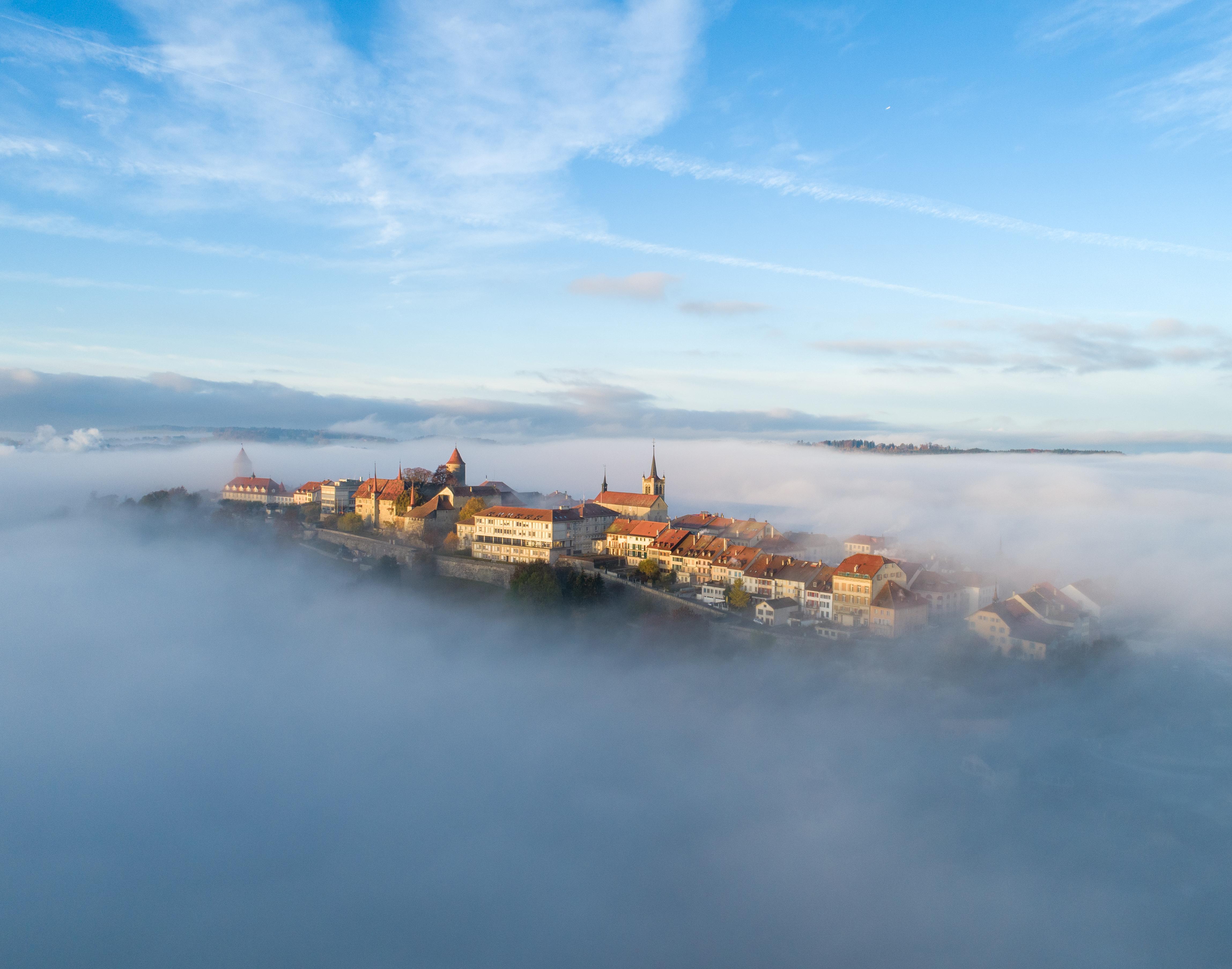A l'instar de Romont, les cités médiévales du canton de Fribourg valent le détour